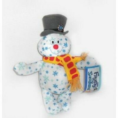 "Holiday Snowflake Frosty the Snowman Plush 10"" Brand New With Tags"