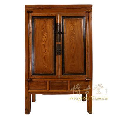 Chinese Antique Carved NingBo Armoire/Wardrobe 17LP55