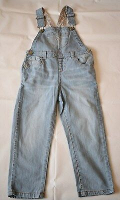girl clothes:denim dungarees, mothercare, 3-4 years, very good condition