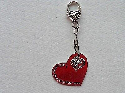 I Will Never Find Another You  Handmade Purse Charm Fob Key Chain Zipper Pull