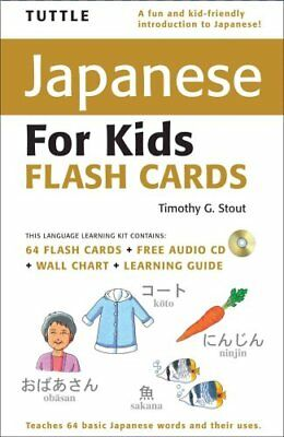 Tuttle Japanese for Kids Flash Cards by Timothy G. Stout (Mixed media...