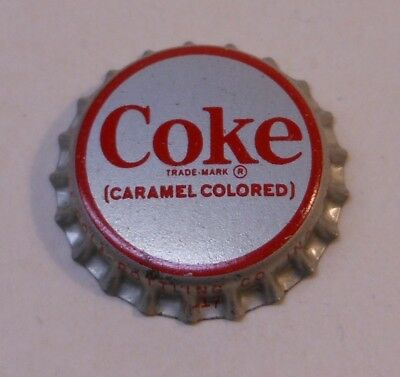 "Vintage Coca Cola ""Carmel Colored""..cork..unused..Soda Bottle Cap"