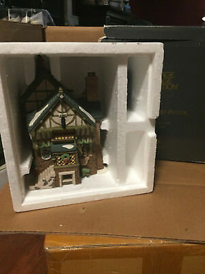 Department 56 Dept The Pied Bull Inn Dickens Village 2nd Edition 1993 5751-7