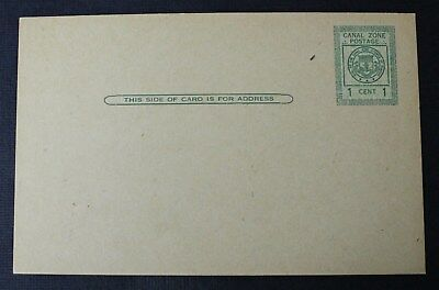 CKStamps: US Canal Zone Stamps Collection Scott#UX8 Unused LH NG