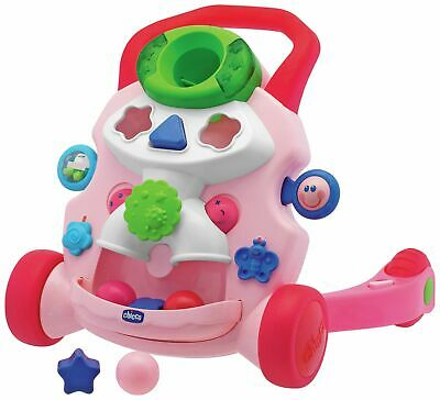 Chicco Baby Steps Activity Walker - Pink.