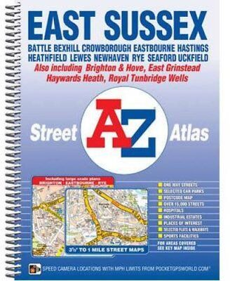 East Sussex Street Atlas by Geographers' A-Z Map Company 9781843487937