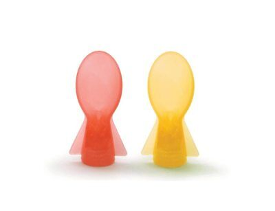 Cherub Baby Colour Change Food Pouch Spoons 2 pack
