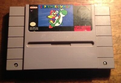 Super Mario World (Super Nintendo Entertainment System, 1992)