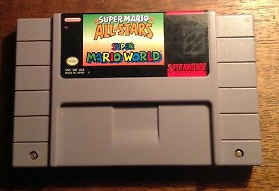 Super Mario All-Stars + Super Mario World (Super Nintendo, SNES 1994)