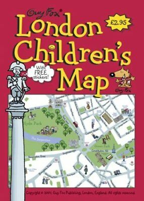 London Children's Map by Kourtney Harper 9781904711049 (Sheet map, folded, 2006)