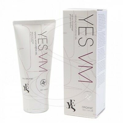 YES Vaginal 100% Natural Organic Water Based Moisturising Gel -100ml