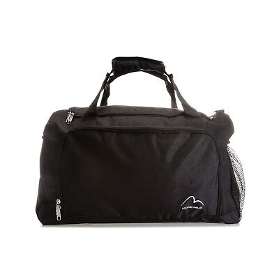 More Mile Medium Training Holdall in Black - One Size From Get The Label