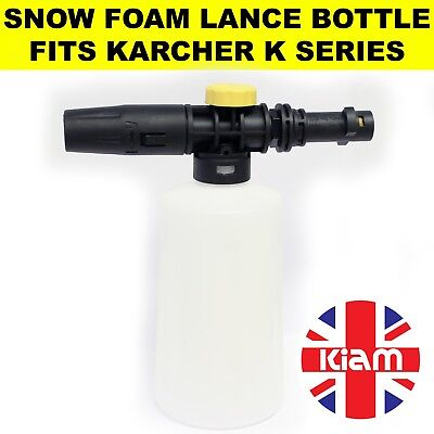 Karcher K5 SNOW FOAM Lance Spray Bottle with variable nozzle for Pressure Washer
