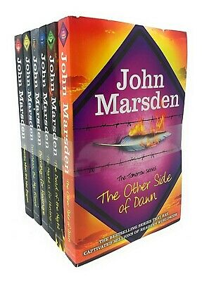 The Tomorrow Series Collection John Marsden 6 Books Set The Night is for Hunting