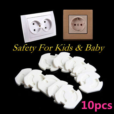 10PCS Child Kids Guard Against Electric Shock Safety Protector Outlet Cover New