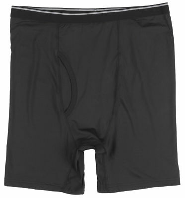 464fbe2855b PERFORMANCE UNDERWEAR BOXER Briefs Black Mens Plus Size Big and Tall ...