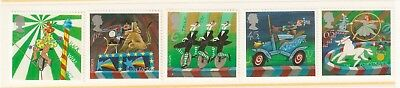 Collectible Great Britain 2002 Stamps:Circus:High Wire, Lion Tamer, Equestrienne