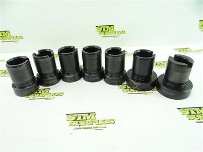 "Nice 7Pc Set Of Parlec Tap Adapters 3/4"" To 2"""