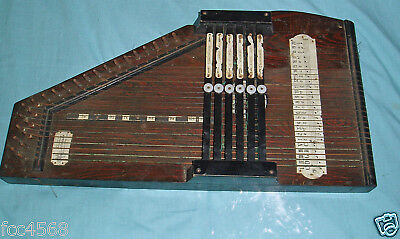 ANTIQUE 1920s AUTO HARP OR ZITHER MEINHOLD MADE IN GERMANY