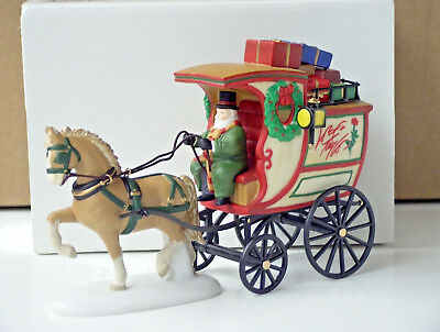 Dept 56 Dickens Village Lord & Taylor Delivery Wagon 07880