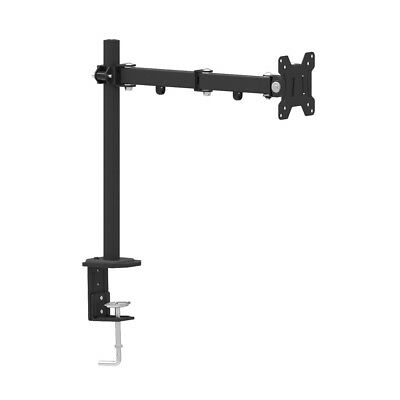 """Ultra-slim 13"""" to 27"""" Single Arm LCD Monitor Desk Table Mount Stand for 1 LCD"""