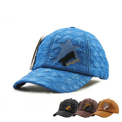 1PC Casual Sport Baseball Cap Embroidery Five-pointed Star Adjustable For Child