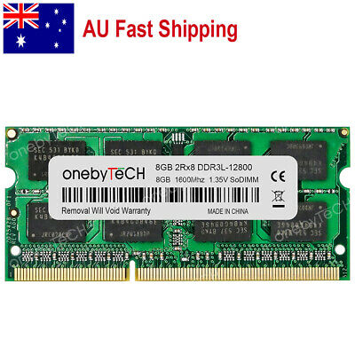 AU 8GB 1X8GB PC3L-12800 DDR3-1600 204 pin Memory For Dell Latitude E7240 E7440