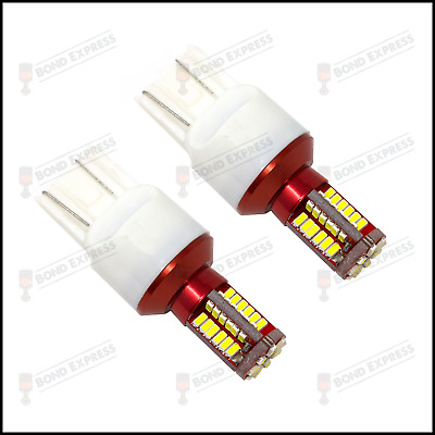 2× T20 7443 580 582 LED Sidelight Bulbs DRL Vauxhall Astra J -UK Stock Fast Post