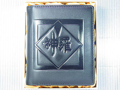 Final Fantasy VII 7 FF7 Shin-Ra Company Leather Wallet