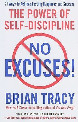 No Excuses: The Power of Self-Discipline, Tracy, Brian, New condition, Book