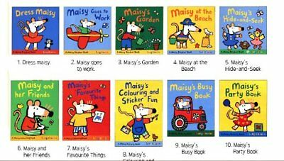 Maisy Mouse Sticker And Activity Collection 10 Books Set By Lucy Cousins