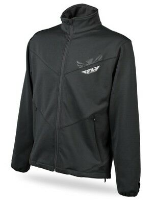 Fly Racing 2014 Adult Mid Layer Top Jacket Black Size Small SM