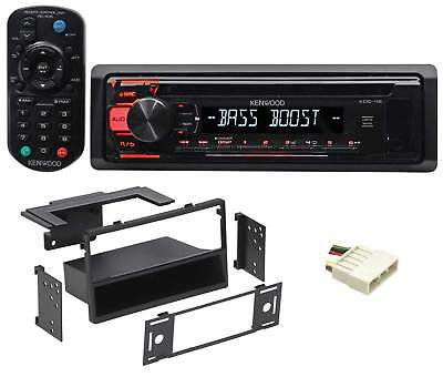 Kenwood CD Receiver Stereo w/Aux/Mp3/WMA, 3-Band Eq+Remote For 1997-99 Acura CL
