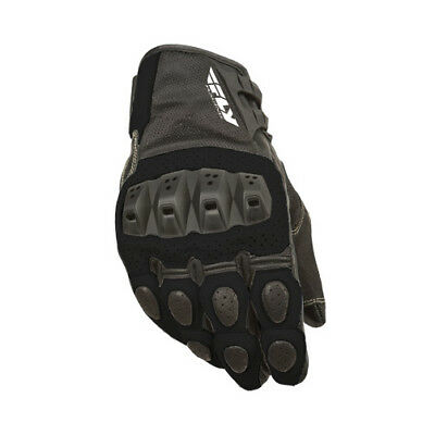 Fly Street ADULT Motorcycle Brawler Gloves Black Gloves Size Large