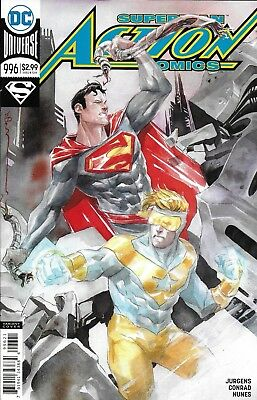 DC Universe Superman Action Comics issue 996 Limited variant