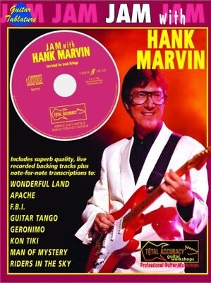 Jam with Hank Marvin (Guitar Tab with Free Audio CD) (Sheet music), 97805715273.