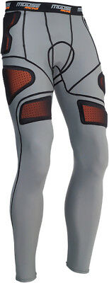 Moose Racing Adult MX ATV XC1 Base Armor Pants Grey S-2XL