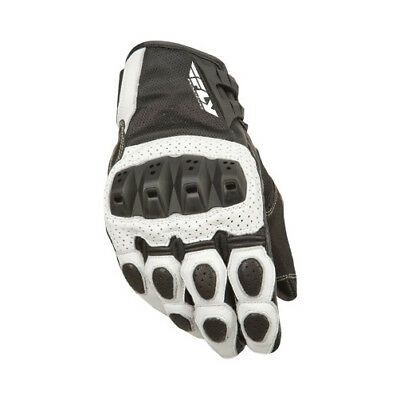 Fly Street ADULT Motorcycle Brawler Gloves White Gloves Size 3XL