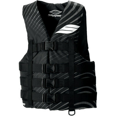 Slippery Adult Vest Hydro Black/Gray 4X+