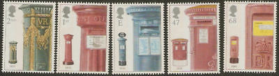 Collectible Great Britain 2002 MNH Stamps: 150th Anniversary of Pillar Boxes