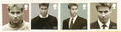 Collectible Great Britain 2003 MNH Stamps:Portraits:Prince William 21st Birthday