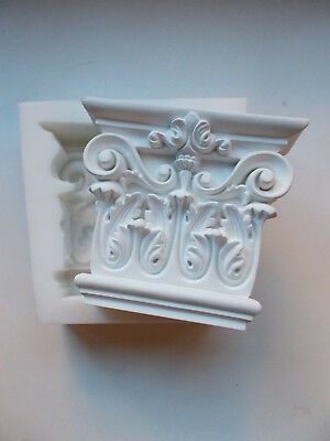 Silicone Rubber Mould Ornate Wall Corbel Mantle Fire Place Shelf Supports