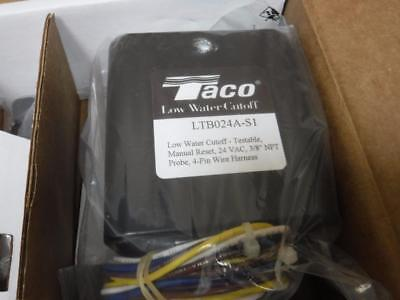 Lochinvar Taco LTB024A-S1 Low Water Cutoff Testable Manual Reset 24 VAC 3/8 inch