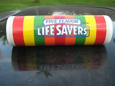 LIFE SAVERS Candy Five Flavor Ceramic Collector Vase Nabisco Teleflora Clearance