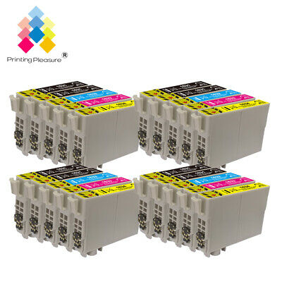 20 Ink Cartridges for Epson Workforce WF-2520NF WF-2630WF WF-2750DWF WF-2010W