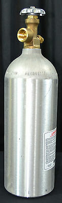 5lb 14cf New Aluminum Nitrogen Tank Cylinder CGA580 for Coffee Beer Helium Argon