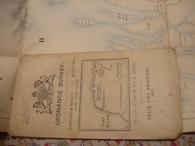 Norfolk:antique Ordnance Map. 1907-12: North Coast: Fakenham & Hunstanton
