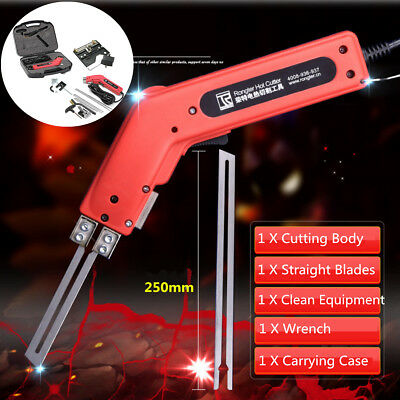 220V 250W Hand Held Durable Hot Knife Heating Cutter Tool Foam Styrofoam 650°C