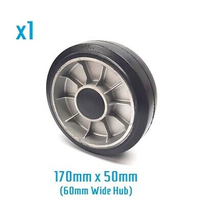 Jungheinrich / MIC - AM22, TM22, AM2200 - Rubber & Aluminium steer wheel