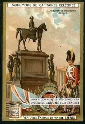 Duke of Wellington Memorial London England c1903 Trade Ad Card